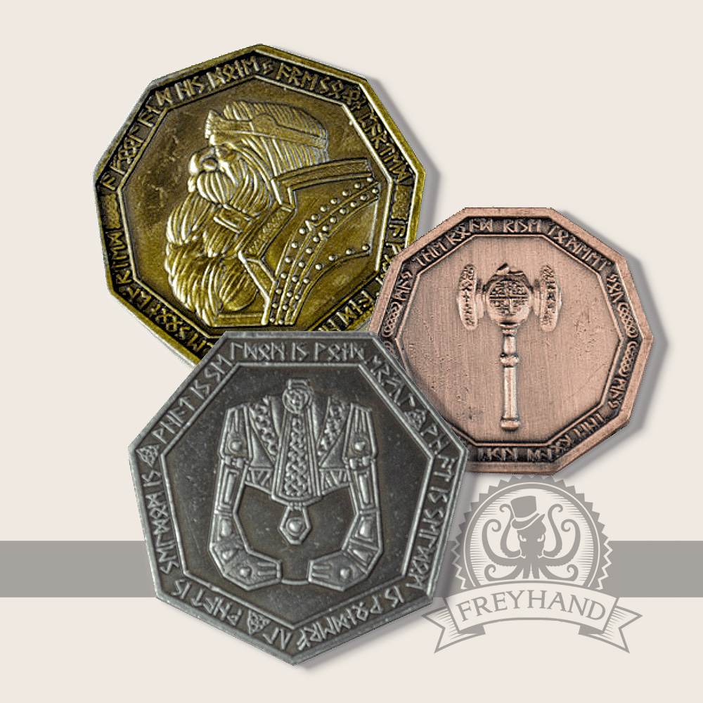 Zwergen Münzen Freyhand