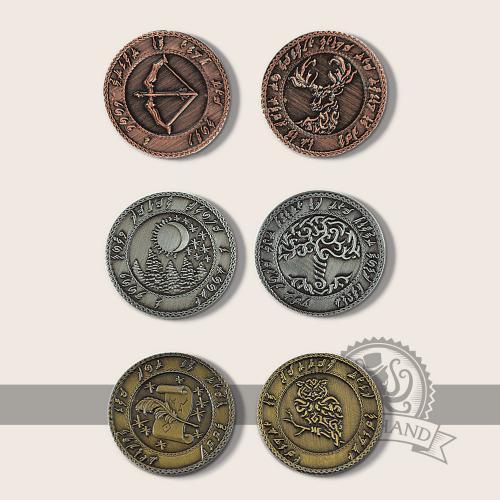 Elfen Münzen -Nicht lieferbar-