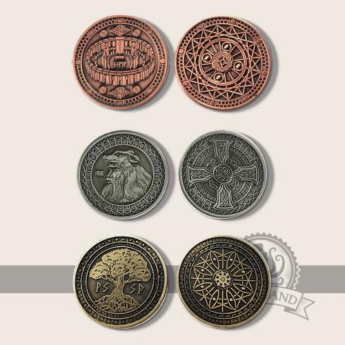 Erdelement Münzen -Nicht lieferbar-