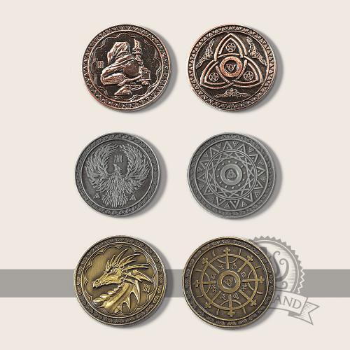 Magier Münzen -Nicht lieferbar-