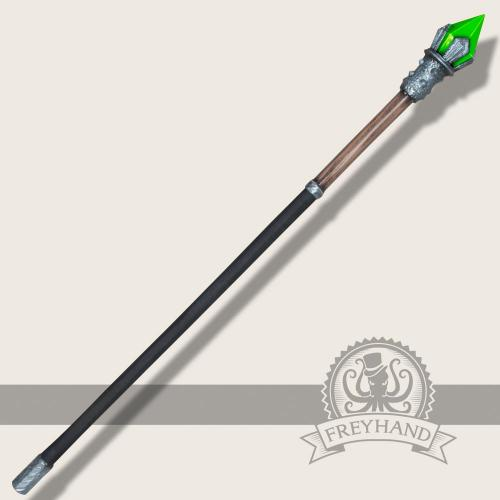 Element Stab Erde (grün) 140cm