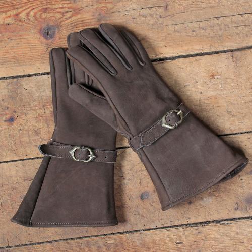 Ulex Lederhandschuhe, braun