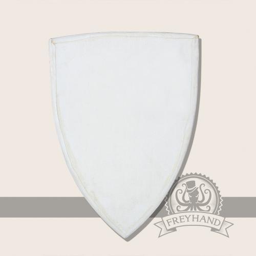 Wappenschild mit Stoffoberfläche, klein