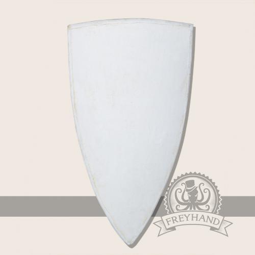Wappenschild mit Stoffoberfläche groß 110 cm