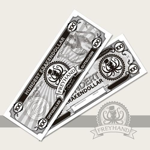 Gutschein Krakendollar 100 Euro