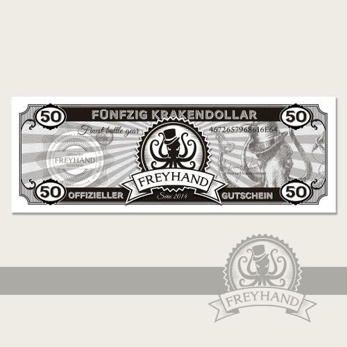 Gutschein Krakendollar 50 Euro