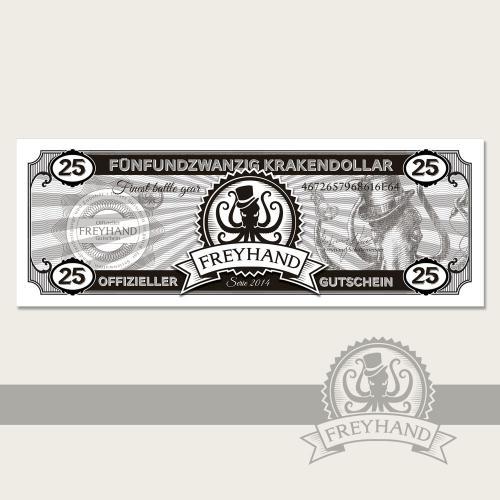 Gutschein Krakendollar 25 Euro