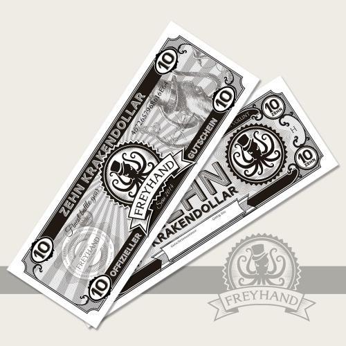 Gutschein Krakendollar 10 Euro