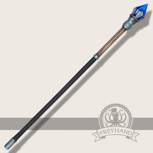 Element Stab Wasser (blau) 140cm