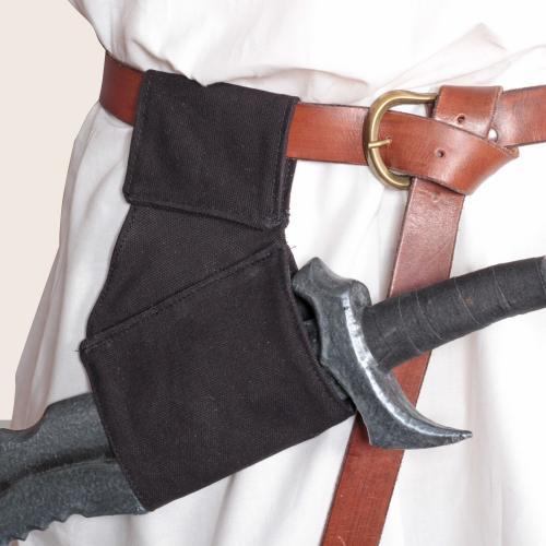 Arum Schwerthalter breit schwarz