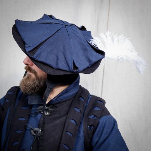Frundsberg Hut blau/schwarz