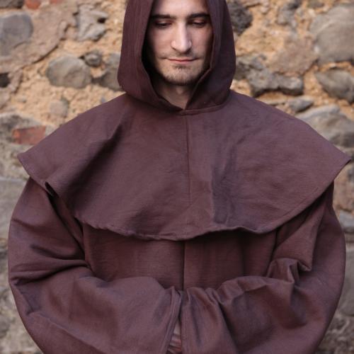 Mönchskutte Franziskus braun