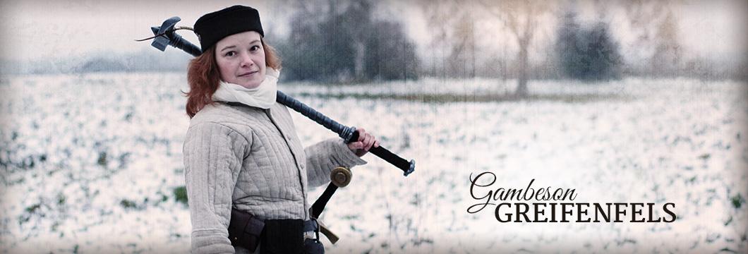 Gambesons von Freyhand für LARP und Mittelalterkostüme