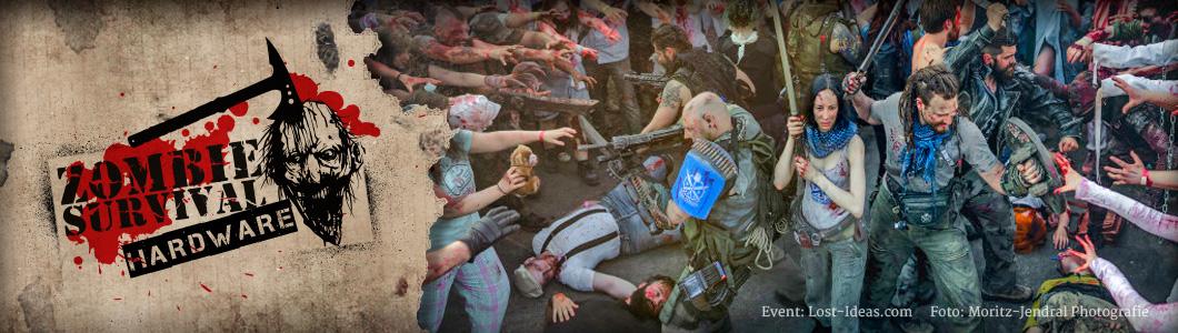 Zombie Survival Hardware - LARP Waffen für die Zombie Apokalypse