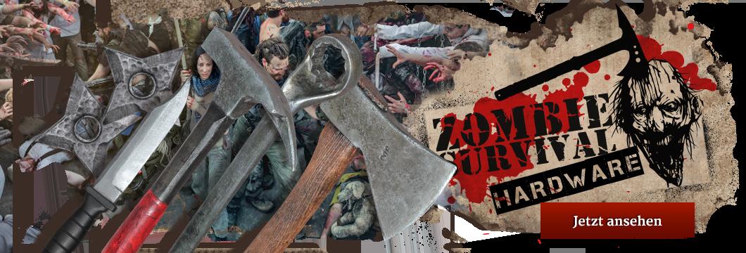 Zombie Survival hardware - LARP Waffen für die Zombie Apocalypse, Endzeit und Resistopia