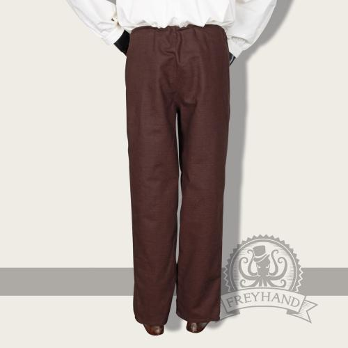 Lamium trousers, brown
