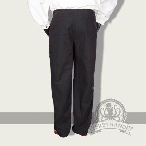 Lamium trousers, black
