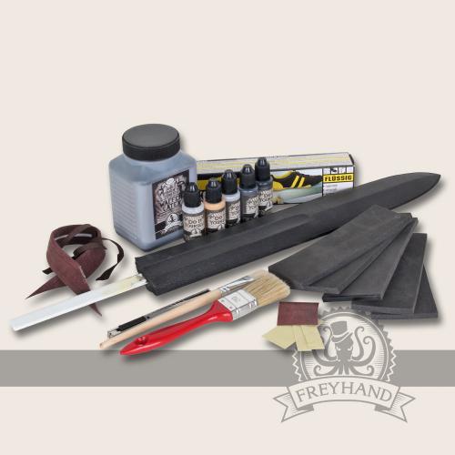 Starter kit for LARP weapons
