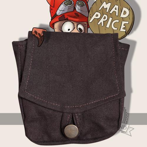 Arum belt pocket, brown