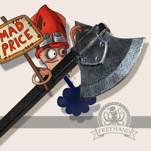 Claas axe, short