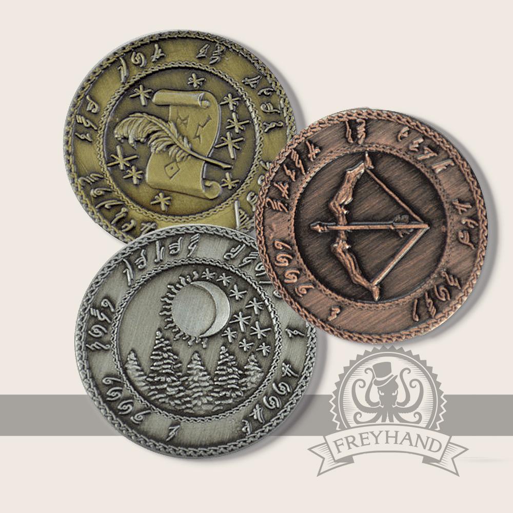 Elfish Coins Freyhand