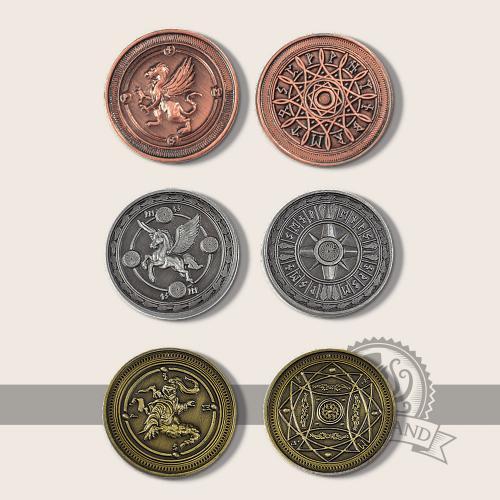Wind-element coins