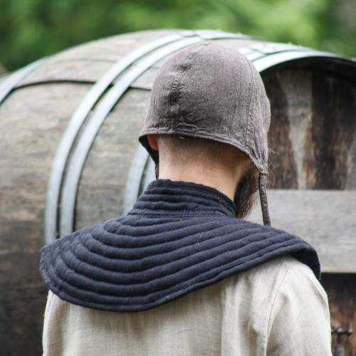 Padded collar Rabenfurth, black