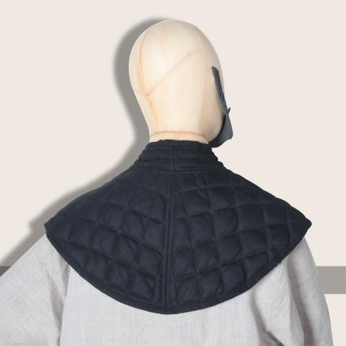 Padded collar Donnergrund, black