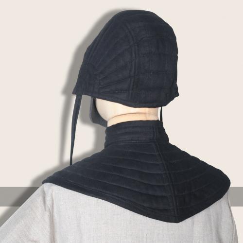 Eisenbrück, padded coif, black