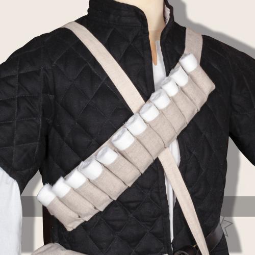 Thuja bandage belt, linen