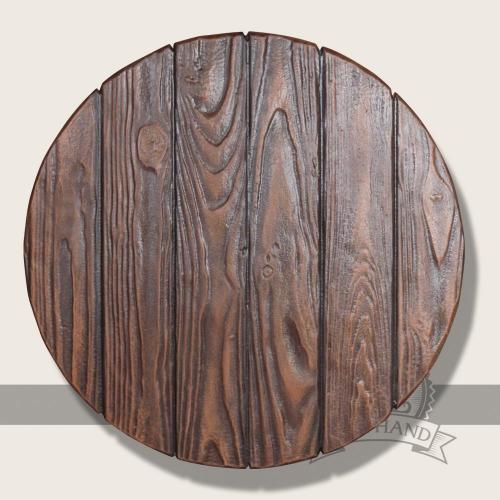 Bodo round shield, large