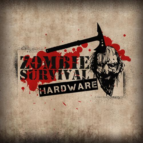 Zombie combat knife