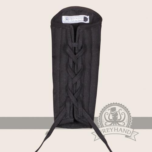 Eisenbrück padded bracers, black