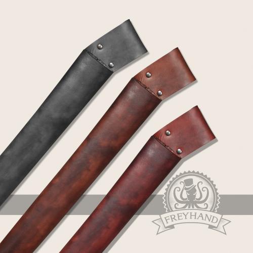 Carlina leather sheath
