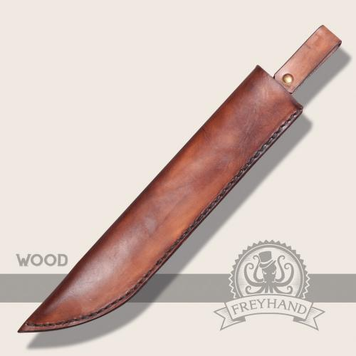 Set Jeff with leather sheath Betula