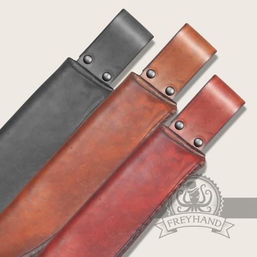 Borago leather sheath