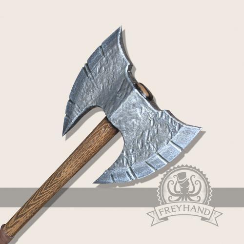 Wulfgar double axe, short