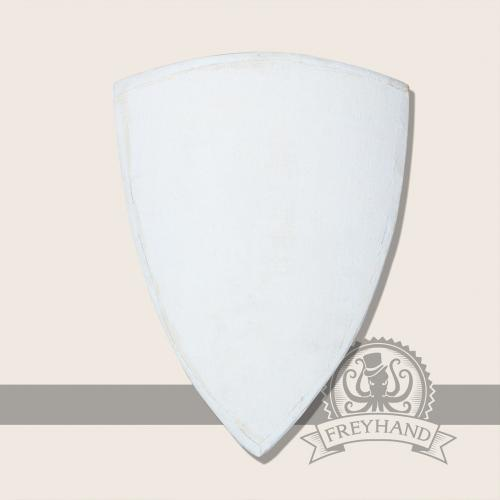 Kite shield with fabric covering, small
