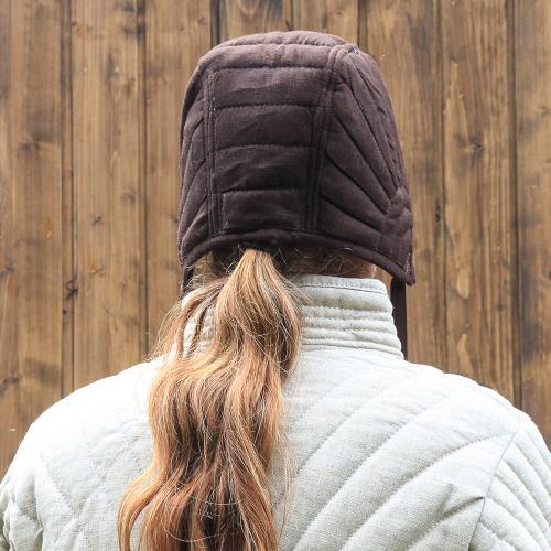Eisenbrück padded coif, brown