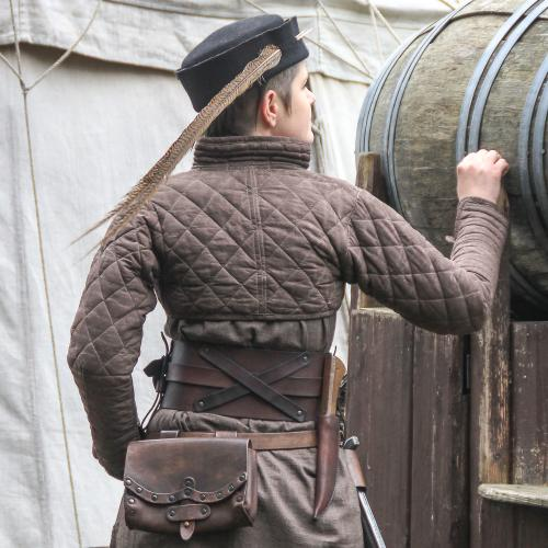 Drachenstein Gambeson, brown