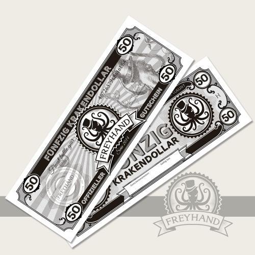 Coupon Krakendollar 50 Euro