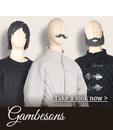 Gambesons and padded accessory