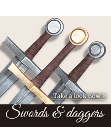Swords and daggers for LARP and Fantasy
