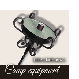 Freyhand camp equipment