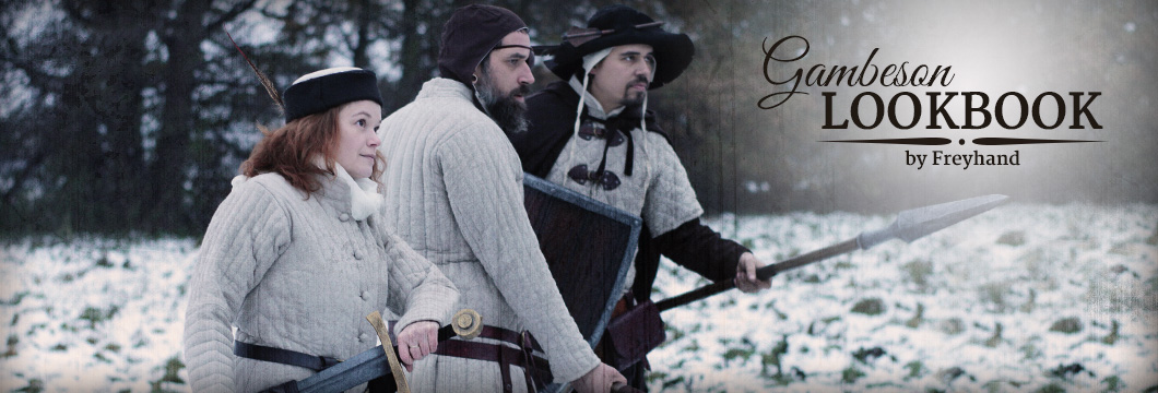 Freyhand Gambesons for LARP and medieval costumes