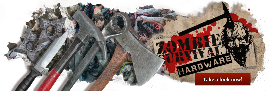 Zombie Survival hardware - LARP weapons for the zombie Apocalypse